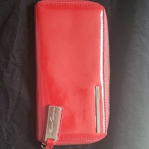 Kenneth Cole patent leather wallet